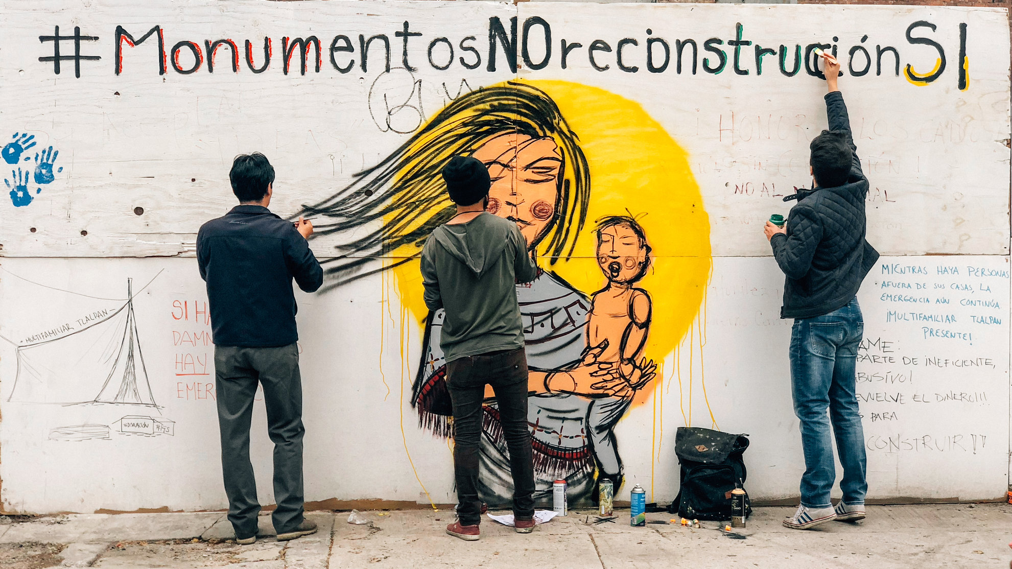 Our Memorial 19s, a 5 month-long campaign to stop the construction of a monument which sponsored forgetting and impunity in the wake of the 2017 Mexico earthquakes